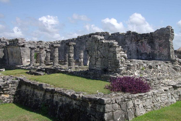 Structure in Tulum Ancient Ancient Architecture Ancient Civilization Ancient Ruins History Maya Maya Ruins Mayan Riviera Mayan Temple Mexico Old Ruin Outdoors Riviera Maya Sky Travel Destinations Tulum