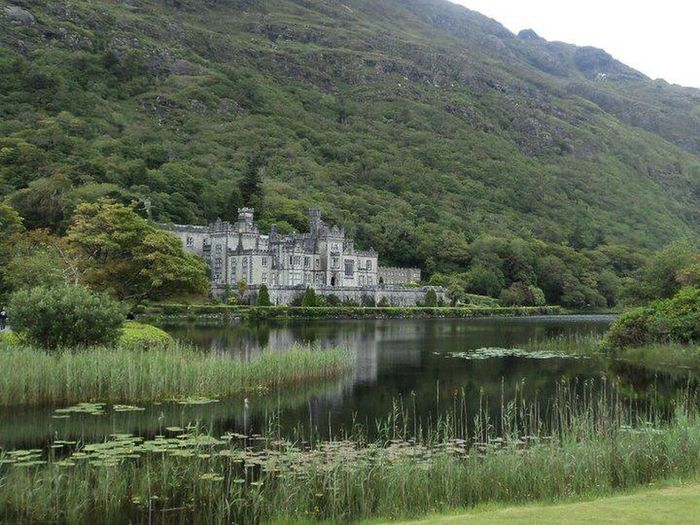 Architecture Beauty In Nature Building Exterior Built Structure Castle Connemara Day Kylemore Abbey Mountain Nature No People Outdoors Reflection Sky Tree Water