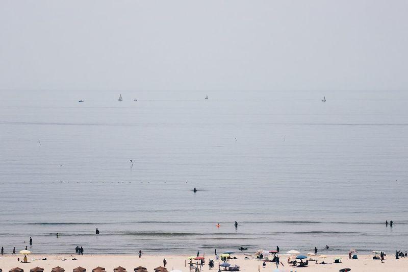 Sea Water Crowd