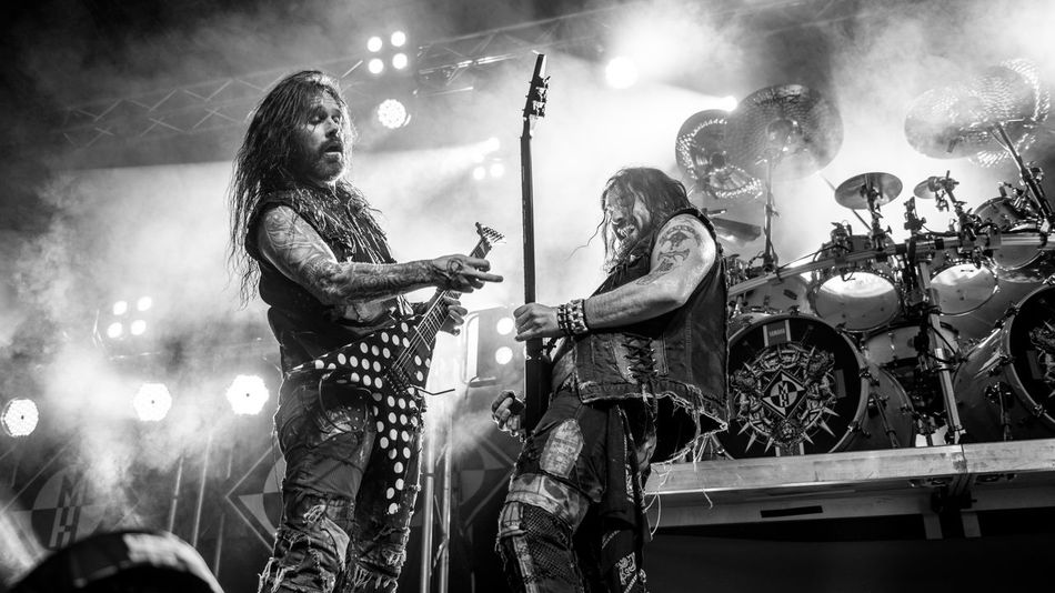 Aesthetics of Hate Art And Craft Arts Culture And Entertainment Blackandwhite Photography Composition Concert Concert Photography Friendship Fun Guitar Guitarist Heavy Metal Live Music Machine Head Music Music Music Is My Life Music Photography  Musician Performance Phil Demmel Robb Flynn