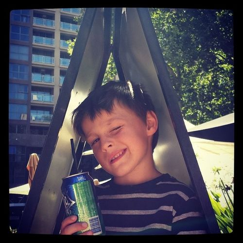 Would you buy a can of sprite from this dodgy geezer? Leviharveybaulch