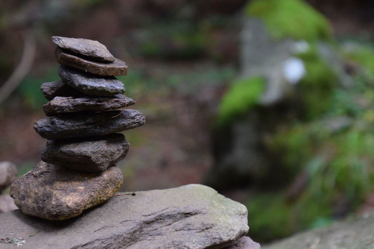 stone Tower 11 Balance Beauty In Nature Close-up Day Focus On Foreground Nature No People Outdoors Relaxation Rock - Object Stability Stack Stapled Stones Tree Zen-like