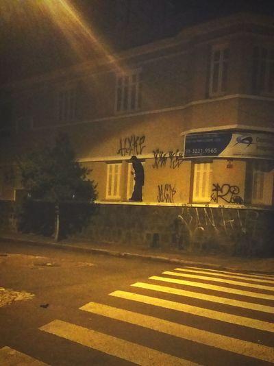 Pixação Oculto Nightphotography Ruas Das Cidades Cidadebaixa PoaCity Pixado Constado Rolê