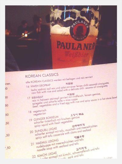 Korean/German Birthday Dinner
