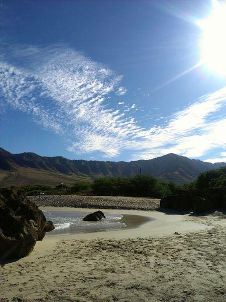 One wish.... West Mauka Reminiscing Sand & Sea Enjoy West Oahu My Love Set It Free Ocean Makua Valley Hawaii Mountain Oahu Heavenly Let It Be 808  Makaha