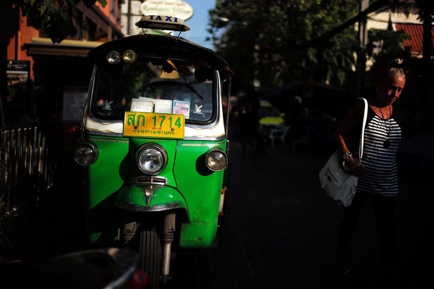 Bangkok, Thailand 2015(Tuk-yuk Car) Streetphotography Street Photography Streetphoto_color TukTuk Taxi OpenEdit Enjoying Life Taking Photos Thailand Sunrise