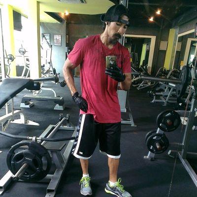Best thing...empty Monday Gym AsweatAday HIIT functionalStrengthTraining notabodybuilder fitness
