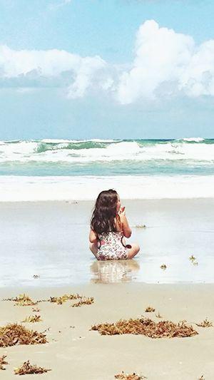 Summer Beachlife Serenity Daytona Beach Perfection Ocean View