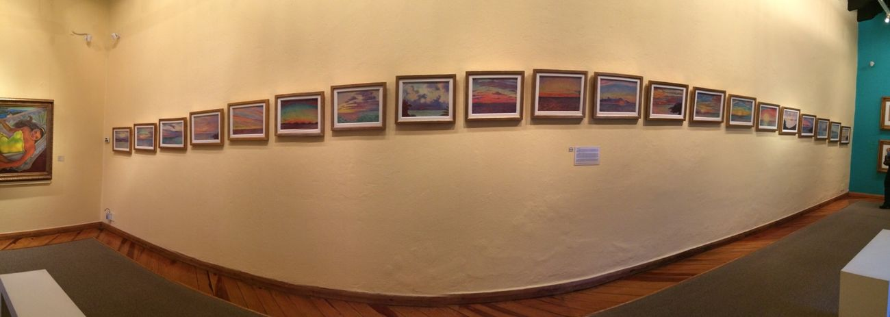Dolores Olmedo Museo Museum Mexico City Colors Paintings Panoramic