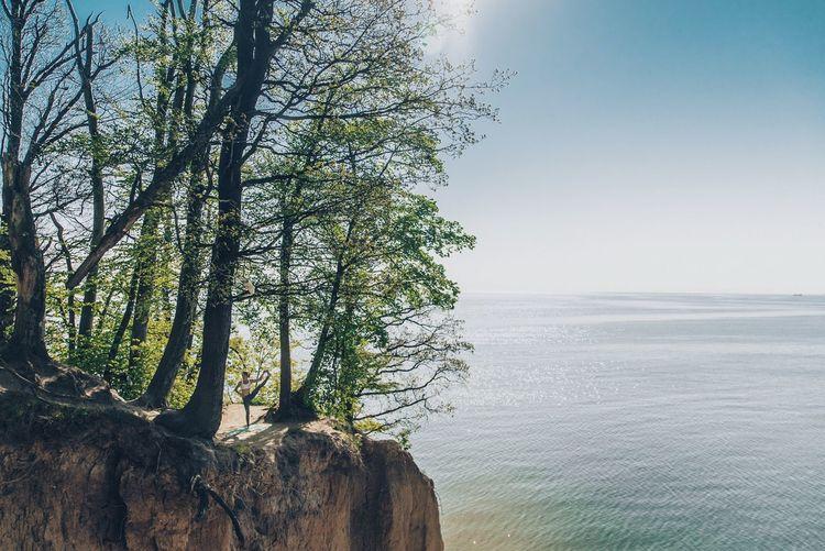 Gdynia Gdansk Cliff Yoga Yoga Pose Outdoors Outdoor Photography Enjoying Life Poland