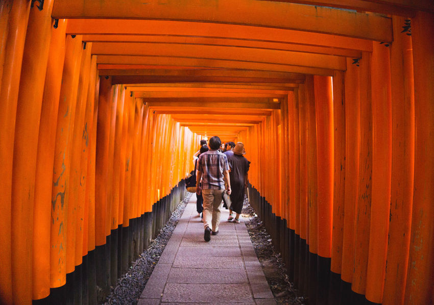 Inari Shrine Kyoto, Japan Japanese Culture Japanese Style Japanese Temple Japan Photos First Eyeem Photo