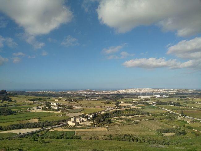 Malta Mediterranean  Beauty In Nature Landscape Mdina Nature Outdoors Scenics - Nature Sky Tranquil Scene Tranquility