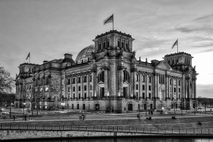 Architecture Black And White Blackandwhite Photography Building Berlin Monochrome Night
