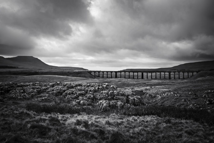 Viaduct Ribbleheadviaduct Railway Bridge Yorkshire Three Peaks Yorkshire Dales Yorkshire Countryside Black And White Yorkshire Landscape Landscapes