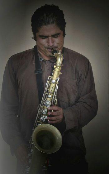Mexico Saxophone Sax Saxophonist Musician Street Musician Music Mexico De Mis Amores