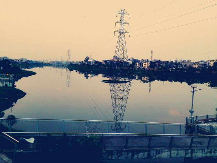 Lake Lake View Lakeside Lakeshore Water Water Reflections Reflection Sunny Afternoon EyeEm Bangladesh EyeEm Gallery