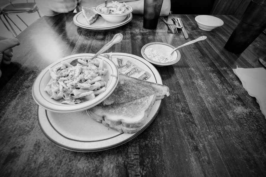 Visual Journal southeast Nebraska November 2016 Chicken noodle soup to feel better America B&w Photography Camera Work Chicken Noodle Soup Diner Eye For Photography EyeEm Gallery Food And Drink Fujifilm Homemade Food Lunch MidWest My Neighborhood Nebraska No People On The Road Photo Diary Photo Essay Plate Restaurant Rural America Serving Size Small Town Taking Photos Visual Journal