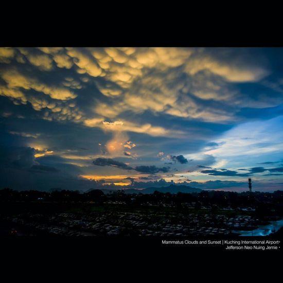 Mammatus Clouds Mammatocummulus Amazing Borneo
