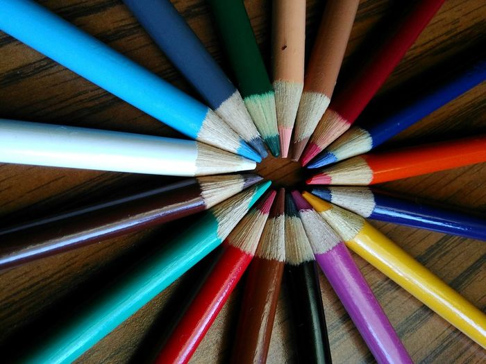 Imagination Close-up Multi Colored Colored Pencil EyeEm Gallery Colours Njphotographer Photooftheday Newjersey Indoors  Art, Drawing, Creativity Variation Photography