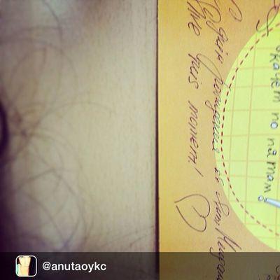 Repost from @anutaoykc Как узнать поздравления от Яны Мендаль?