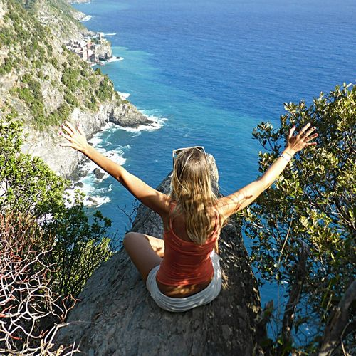 People Of The Oceans That's Me Beaches Of The World Landscape_Collection Backpacking Ttavelling Enjoying Life Bestviews Liguria,Italy Viaggintornoalmondo Dreamscapes & Memories Dream Destination Italy Beach Dream Island Discover Italy Sky Beach Sea Dream DreamScapes Dream Travel Nature Sand Water Relax