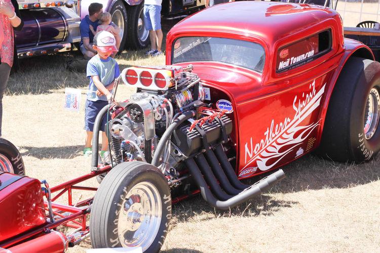 Big Headers Drag Rave Hooser Tyres Quarter Mile Horse Dragster Funny Car Hot Rod Super Charger