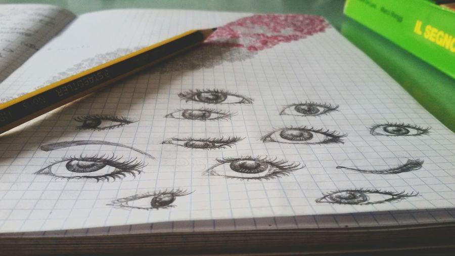 Eyes. Different Eyes Eyes Drawing