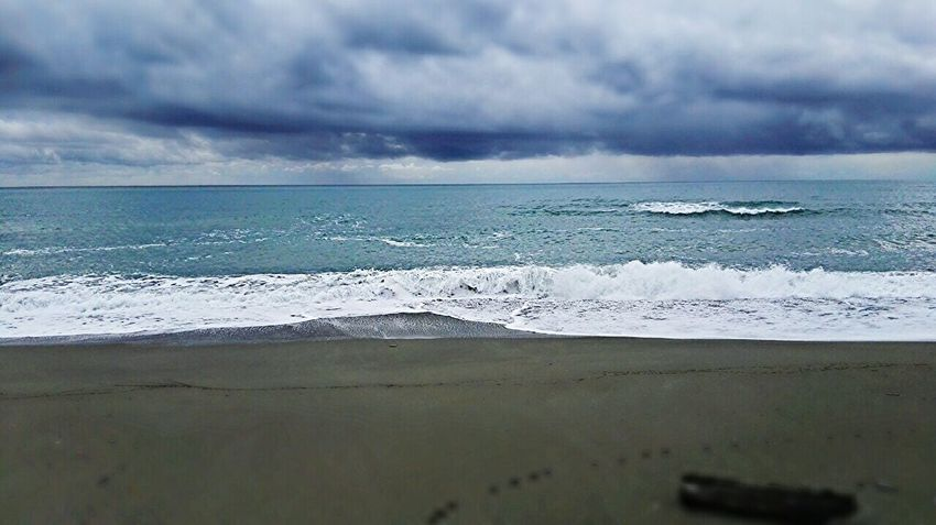Mare Inverno Gennaio2016 Sea And Sky Wintertime January2016 LETARGO Calabria Colors Of Nature