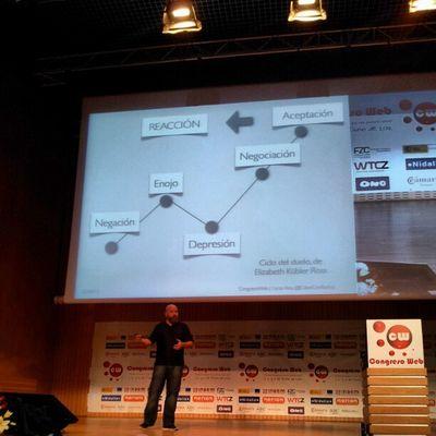 Gráfico que representa las fases en redes sociales @calvoconbarba Cw12 Smcw Fotoscw