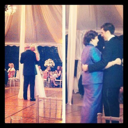 Fatherdaughter & Motherson dances.