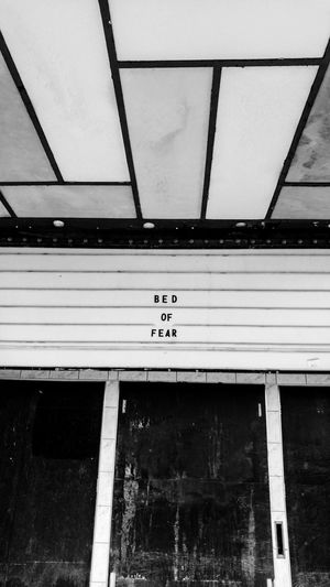 Bed Of Fear Closed Movie Theater