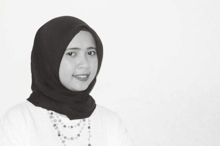 Hijabstyle  Black And White