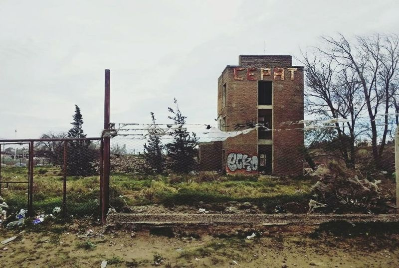 Sky Day Outdoors Built Structure No People Tree Building Exterior Architecture EyeEmNewHere The Week On EyeEm Comodoro Rivadavia Chubut Comodoro Rivadavia