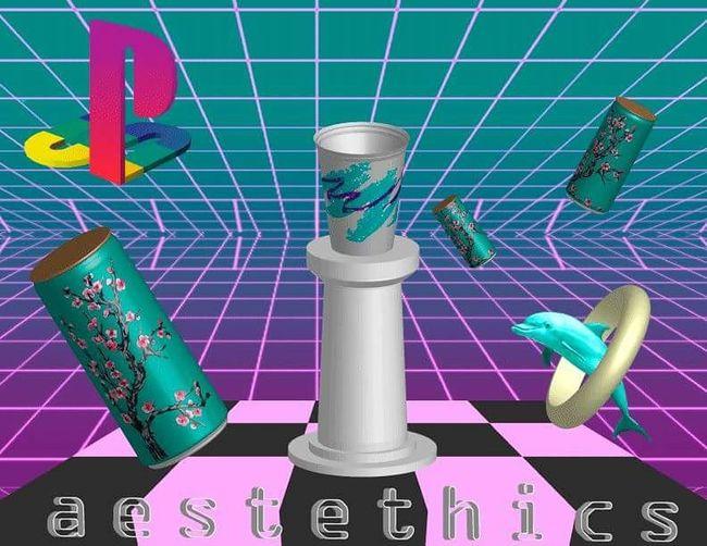 Vaporwave 3D Art First Eyeem Photo