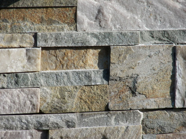 Full patern bricks and mineral full framed Textured Surfaces Bricks Texture Textured Rock Wall Architectural Feature Rocks And Minerals Texture Background Day Rock Material Parement Exterior Shooting 4x3photography Premium Collection Full Frame