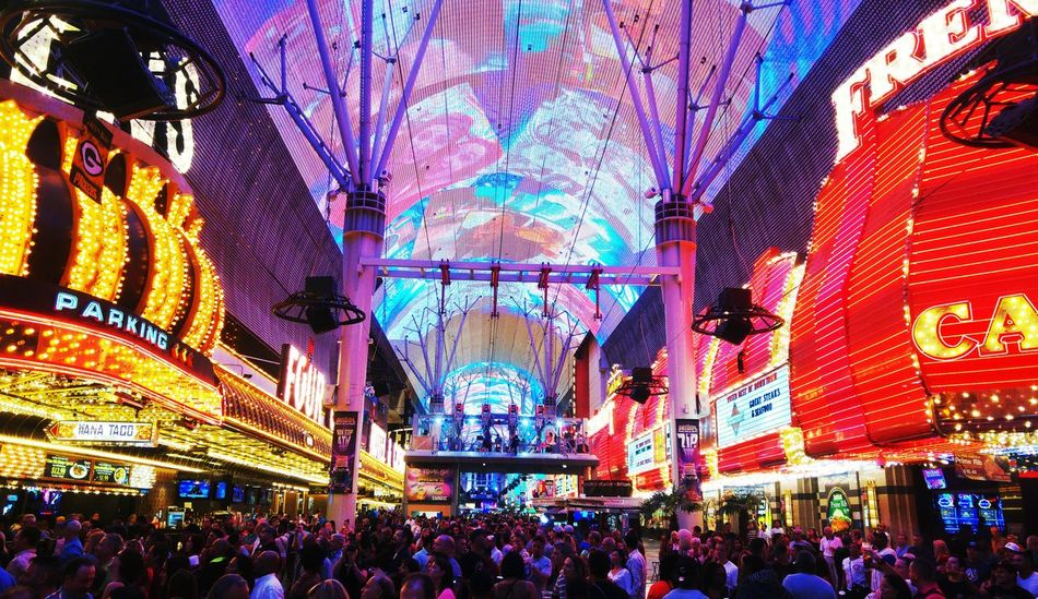 Travel Photography Www.joshbaileyphotography.weebly.com Route 66 America Las Vegas Freemont Street