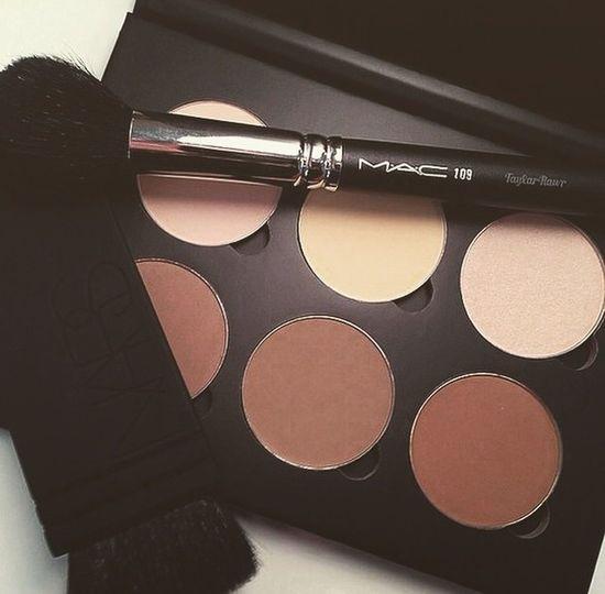 Mac Makeup Fashion Bronzer  Conturing Brush MakeUpBrush Style Schminke