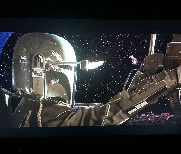 The baddest Bounty Hunter in the galaxy. Boba Fett The Empire Strikes Back
