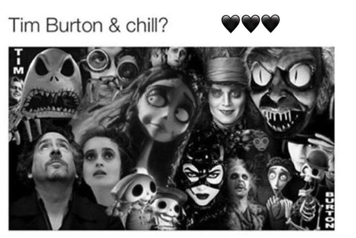 LIKE ANY FUCKEN DAY! I'm that type of girlfriend☺️ Timburton LoveEm PerfectDate