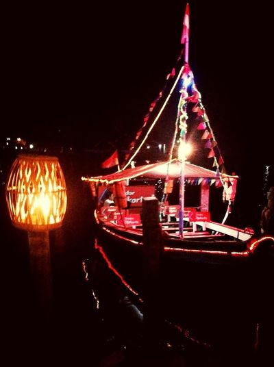 Neon Boat