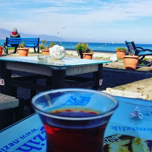 Günaydın :) Huawei Huawei Photography Water Mojito Sea Drink Beach Drinking Glass Cocktail Nautical Vessel Table Blue Ice Tea Salt - Seasoning