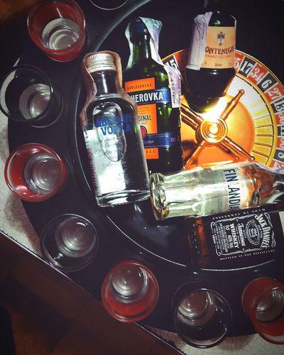 #alcohol Whiskey Vodka🍹 Becherovka Casino Variation Table Close-up First Eyeem Photo