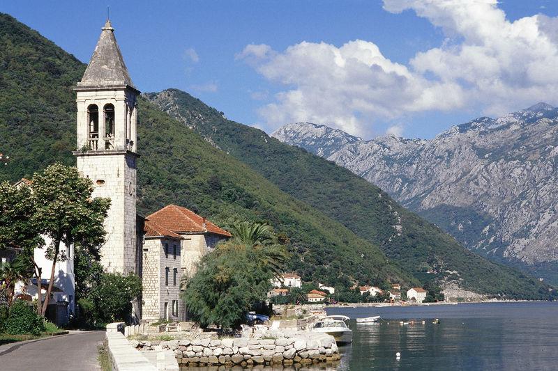 Adriatic Sea Bay Of Kotor Boka Kotorska Fiord Kotor Kotorska Kotorska Bay Montenegro Travel Destinations