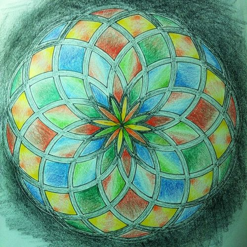 Toroid Sacredgeometry Colors Shading  itlooksbetterinperson