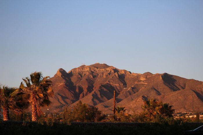ELPASOTEXAS El Paso Franklin Mountains