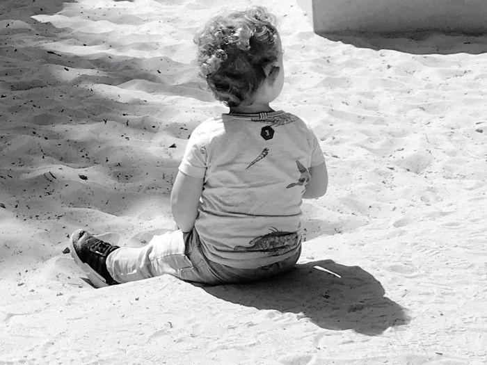 Child Sand One