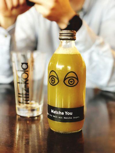 Indoors  Table Bottle Freshness Energydrink