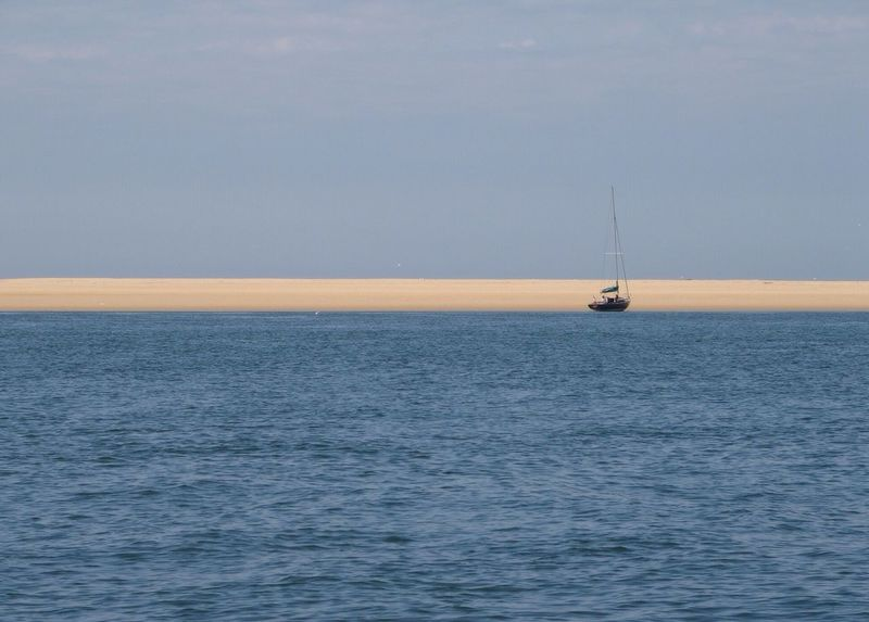 Boat on the island Bassinarcachon Bassin D'Arcachon Placetovisit Sailing View From Above Sea Seaside Great Atmosphere Viewpoint Water - Collection Tourism View Places You Must To See Holidays Island Island View  Boats⛵️ Sailing Boat Sailing Ship