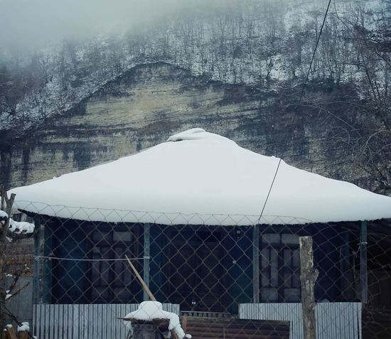 Kinchkha კინჩხა #კინჩხა #hiking #Nature  #travel #cottage Snow Winter Cold Temperature Mountain Nature