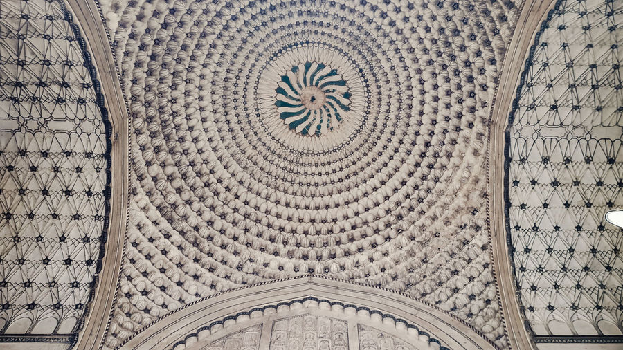 Structure Place Of Worship Backgrounds Full Frame Spirituality Pattern Religion History Ancient Design Architecture Mosaic Architecture And Art Architectural Detail Architectural Feature Archaeology Ancient Civilization Ceiling
